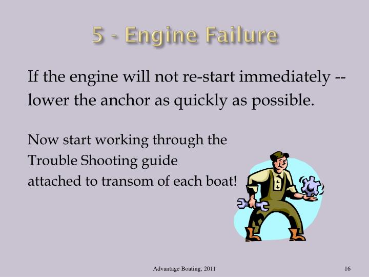 5 - Engine Failure