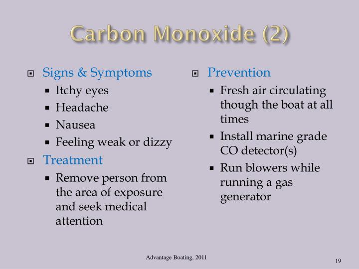Carbon Monoxide (2)