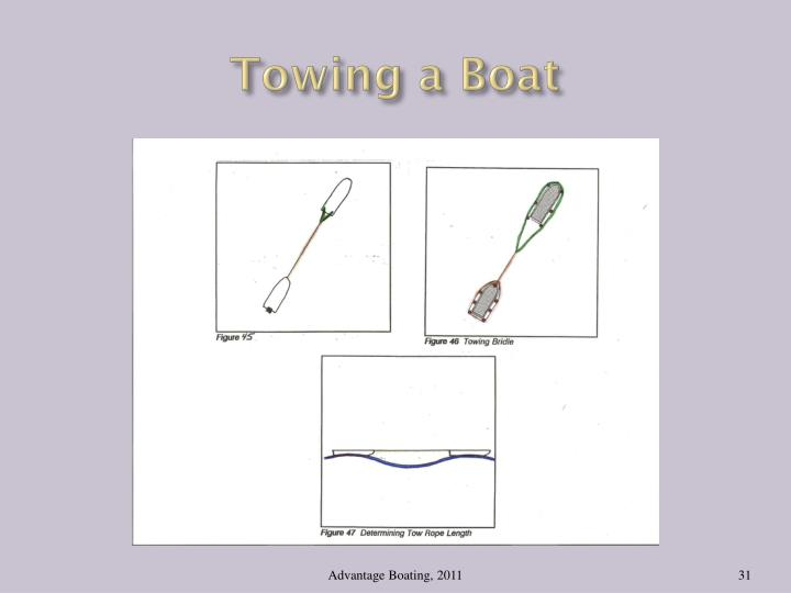Towing a Boat