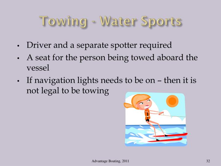 Towing - Water Sports