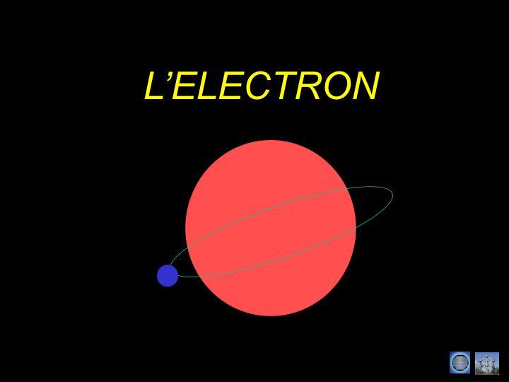 L'ELECTRON