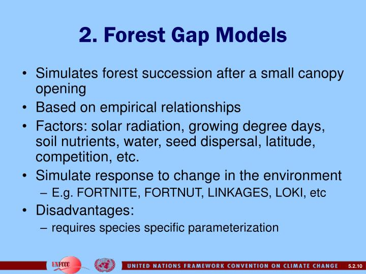 2. Forest Gap Models