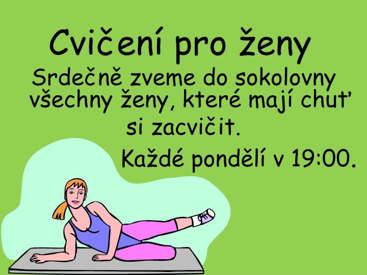 Cvičení pro ženy