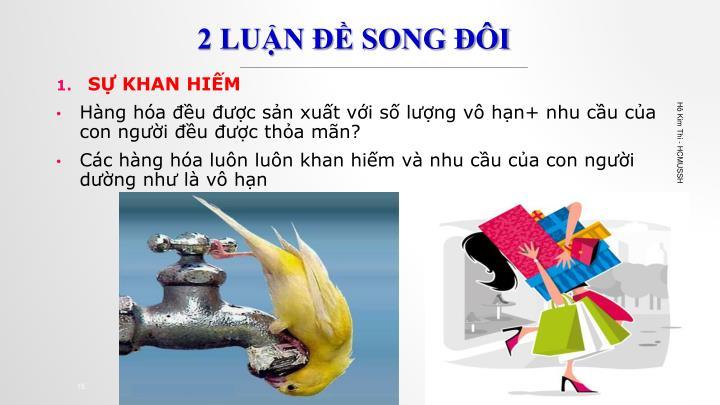 2 LUẬN ĐỀ SONG ĐÔI