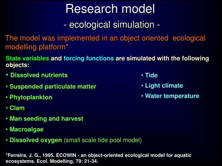 Research model