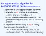 an approximation algorithm for positional scoring rules xia conitzer procaccia ec 10