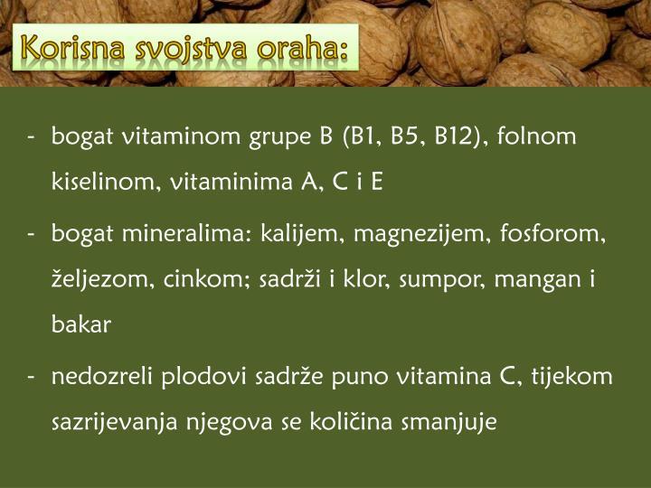 Korisna svojstva oraha: