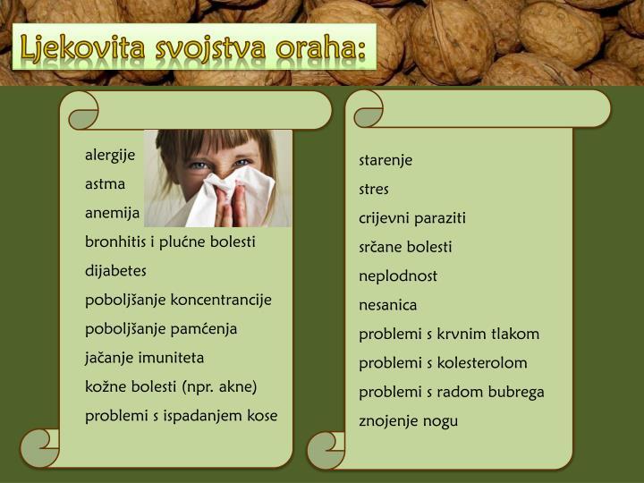 Ljekovita svojstva oraha: