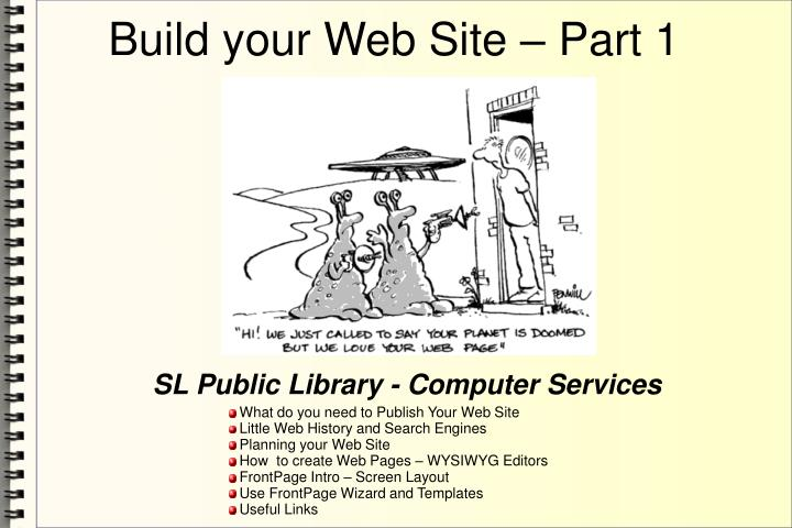 Sl public library computer services