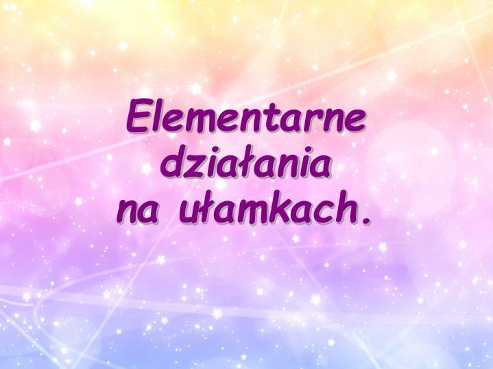 Elementarne