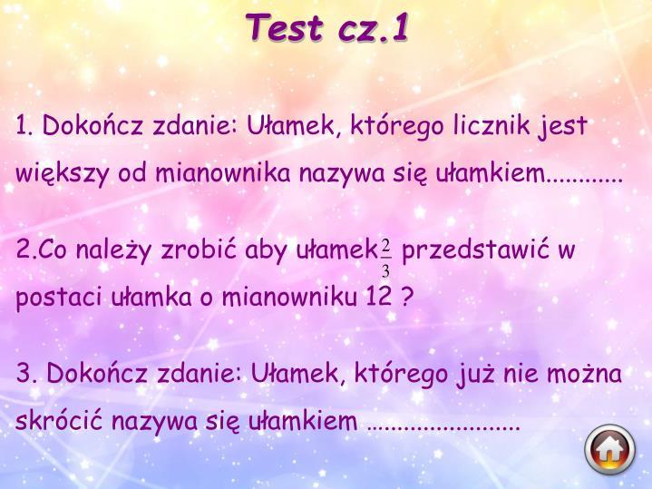 Test cz.1