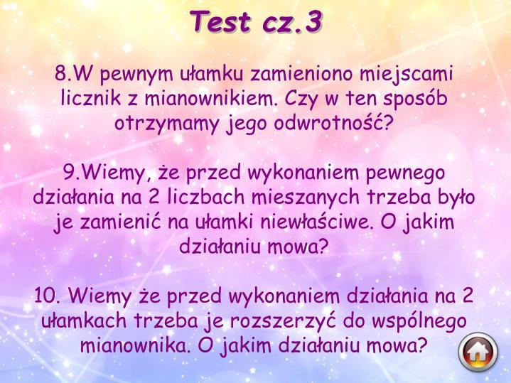 Test cz.3