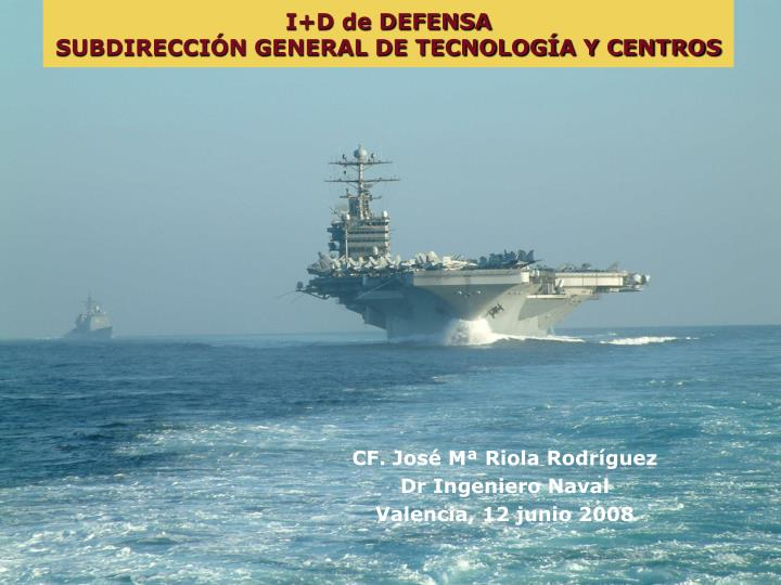 I+D de DEFENSA