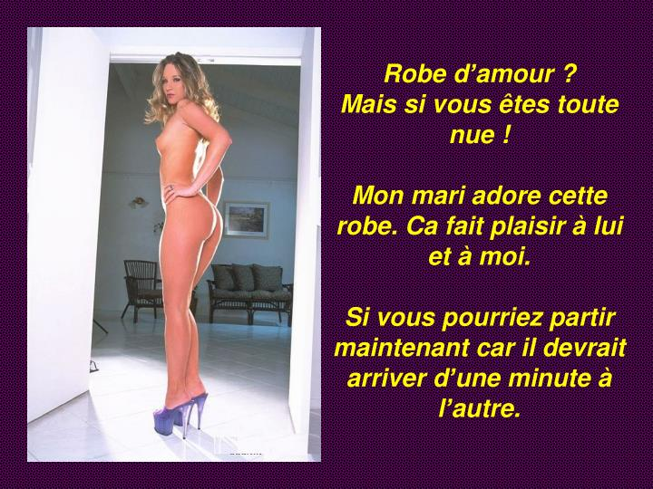 Robe d'amour ?