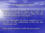 propositions 1
