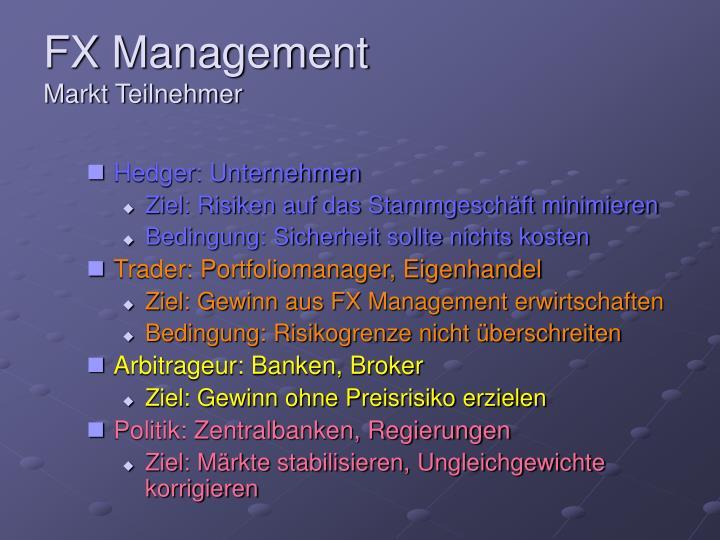 FX Management