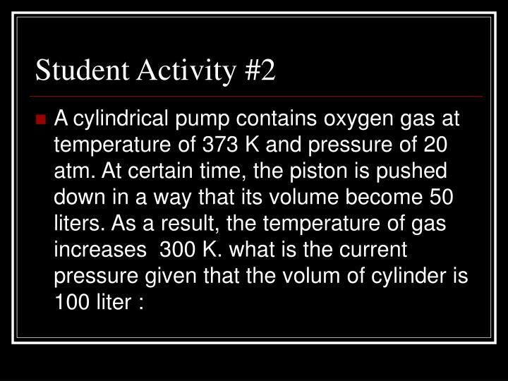Student Activity #2
