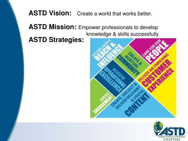 ASTD Vision