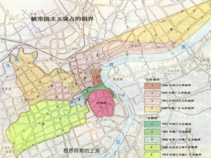 租界時期的上海