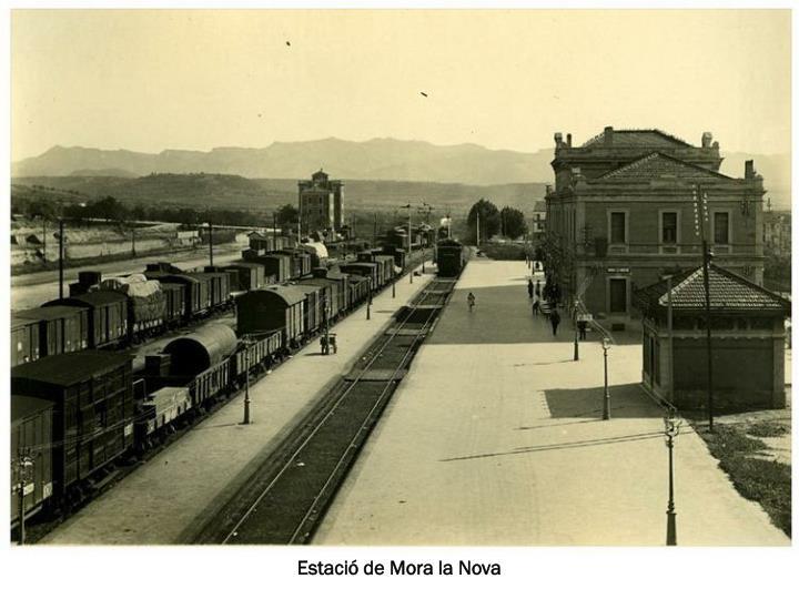 Estació de Mora la Nova