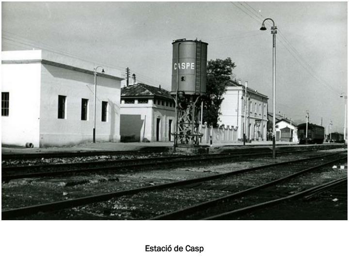 Estació de Casp