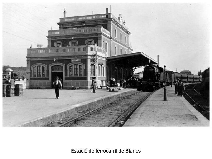 Estació de ferrocarril de Blanes