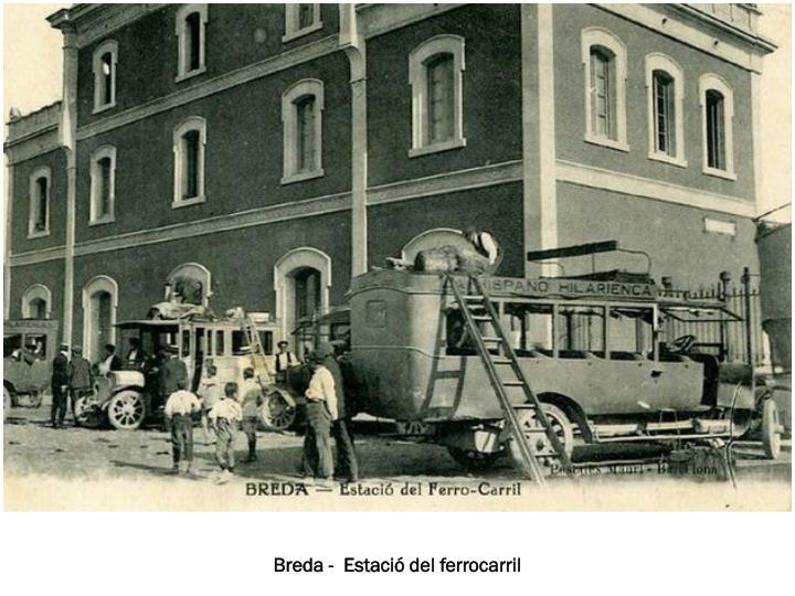 Breda -  Estació del ferrocarril