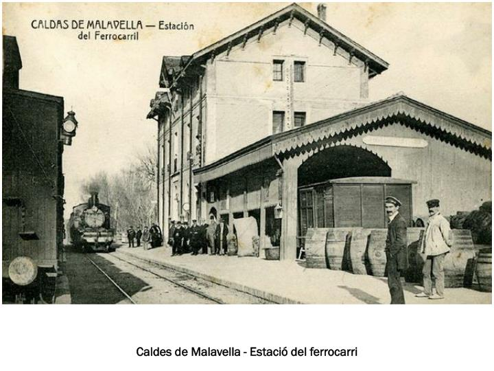 Caldes de Malavella - Estació del ferrocarri