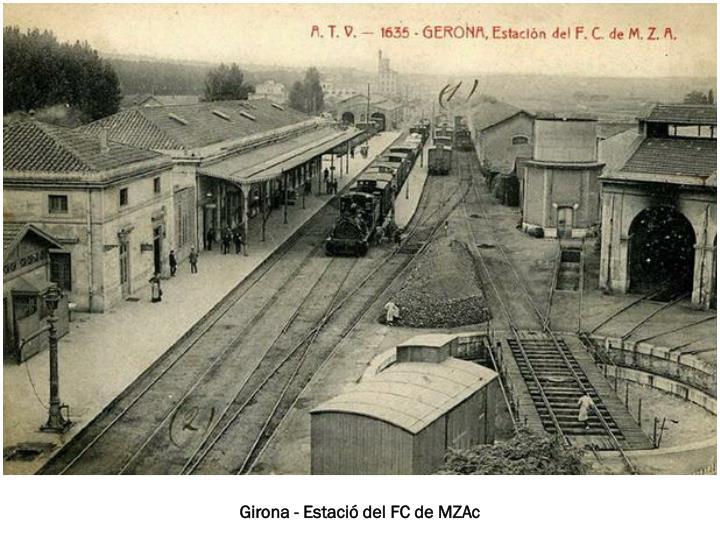 Girona - Estació del FC de MZAc