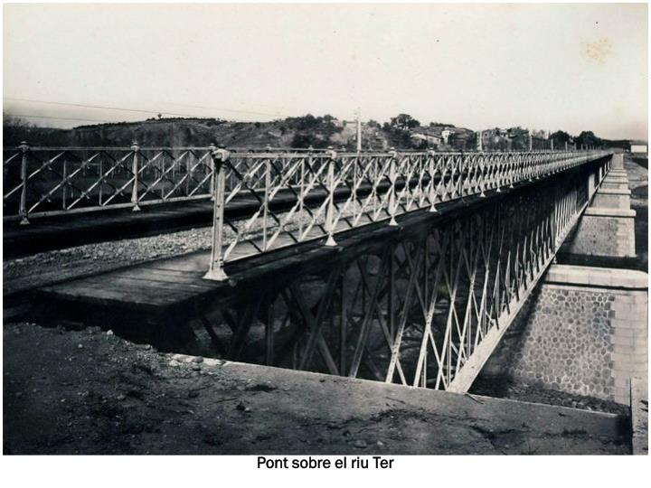Pont sobre el riu Ter