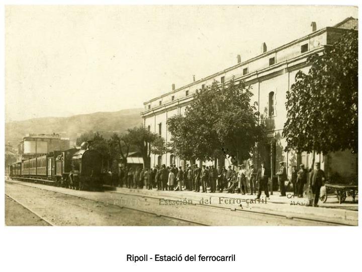 Ripoll - Estació del ferrocarril
