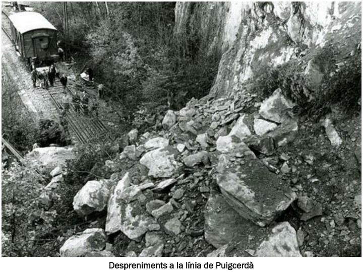 Despreniments a la línia de Puigcerdà