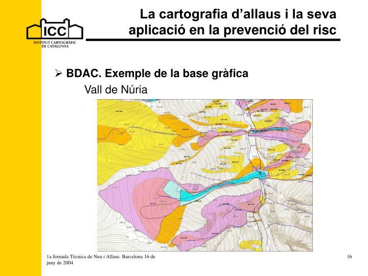La cartografia d'allaus i la seva aplicació en la prevenció del risc