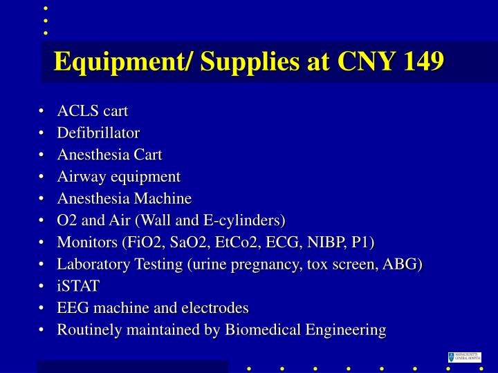 Equipment/ Supplies at CNY 149