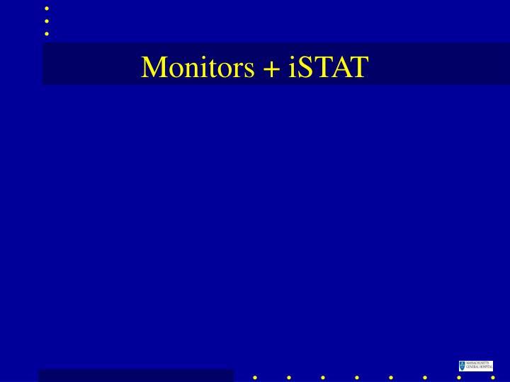 Monitors + iSTAT