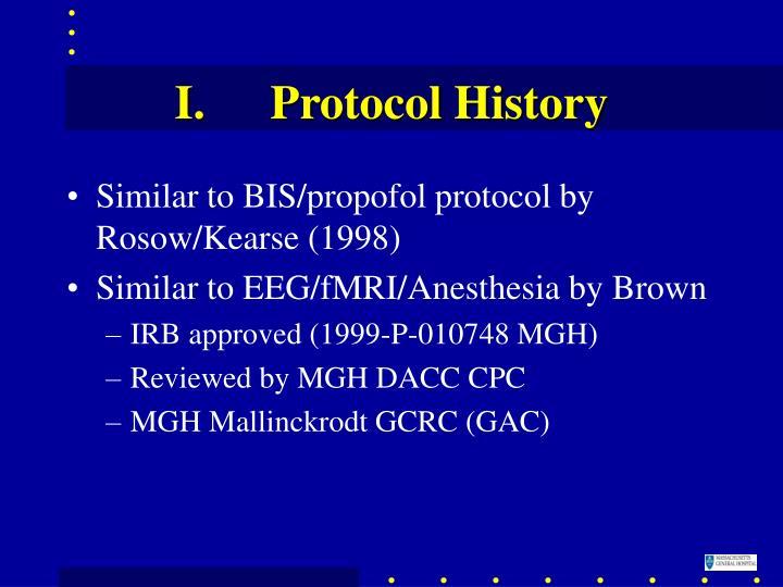 Protocol History