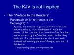 the kjv is not inspired2