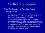 the kjv is not inspired6