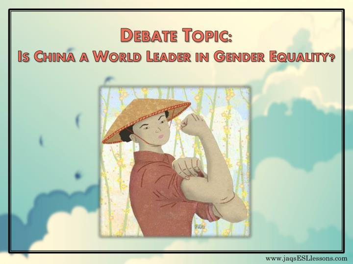 Debate Topic: