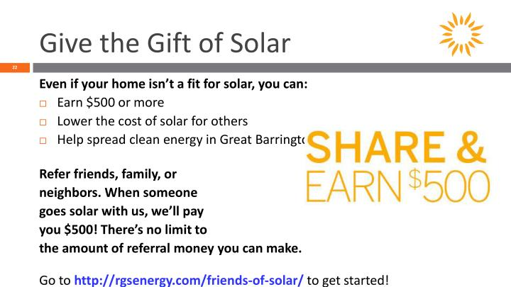 Give the Gift of Solar