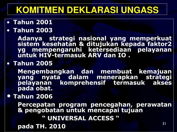 Tahun 2001