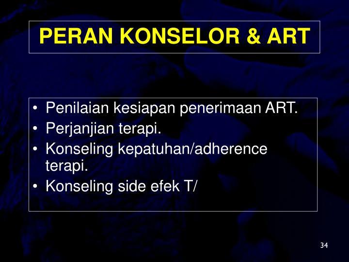Penilaian kesiapan penerimaan ART.
