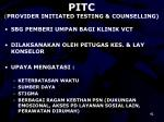 pitc provider initiated testing counselling