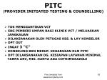 pitc provider initiated testing counselling1