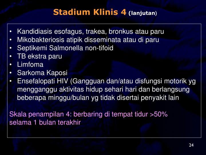 Stadium Klinis 4