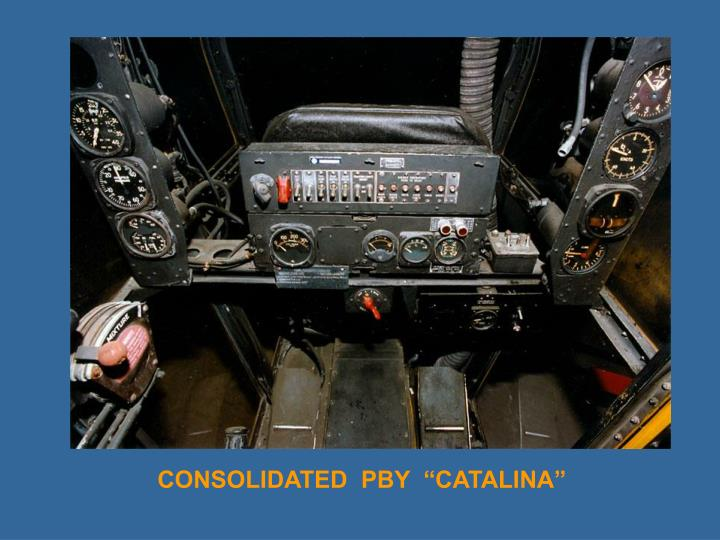"CONSOLIDATED  PBY  ""CATALINA"""