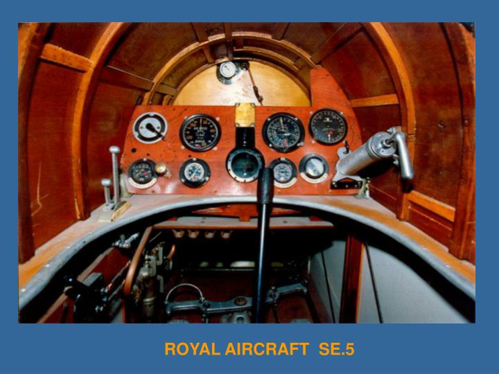 ROYAL AIRCRAFT  SE.5