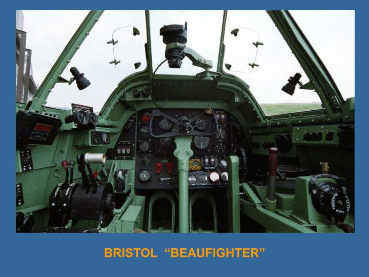 "BRISTOL  ""BEAUFIGHTER"""