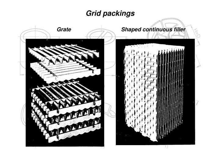 Grid packings