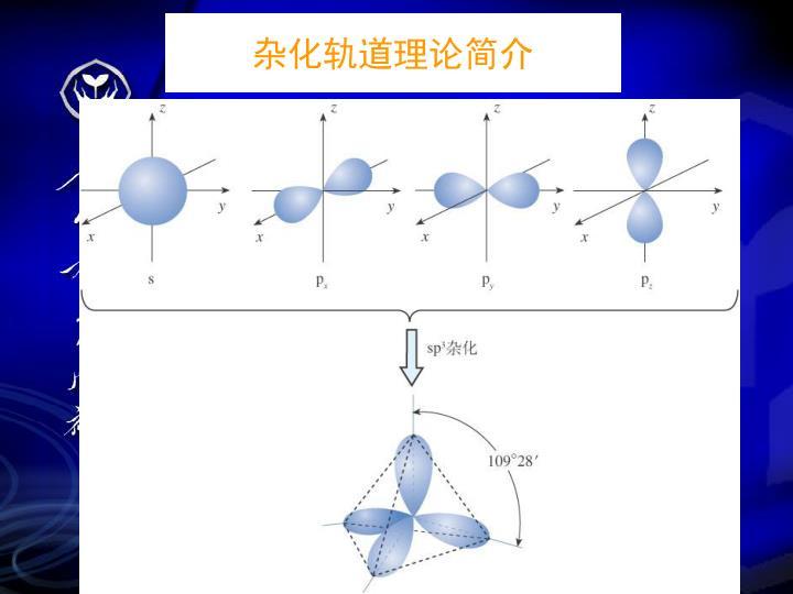 杂化轨道理论简介